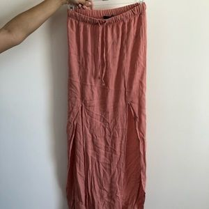 Forever 21 Maxi Skirt with Slits